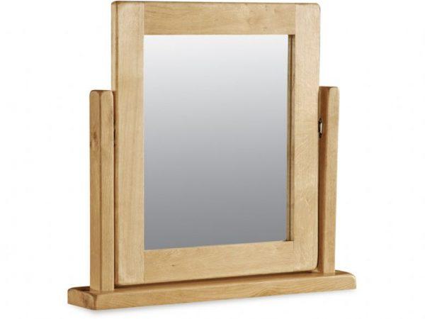 sawrey oak vanity mirror
